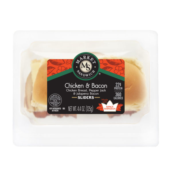 Market Sandwich King's Hawaiian Chicken and Bacon Slider Package