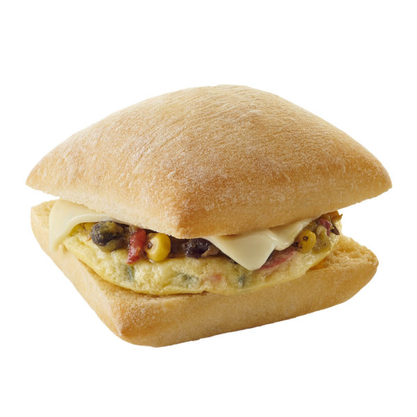 Market Sandwich Hot-to-Go Egg Cheese & Green Chili Salsa on a Ciabatta Roll image