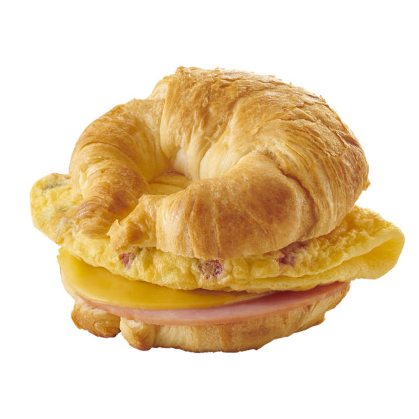 Market Sandwich Hot-to-Go Omelet with Ham & Cheese on a Croissant image
