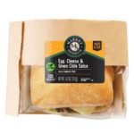 Market Sandwich Hot-to-Go Egg Cheese & Green Chili Salsa on a Ciabatta Roll in a package image