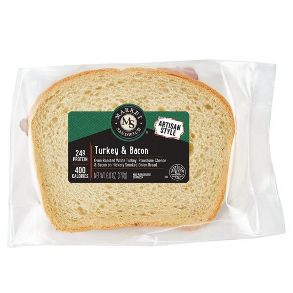 Market Artisan Turkey & Bacon Sandwich