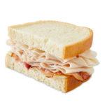 Market Artisan Turkey & Bacon Sandwich Half Slice