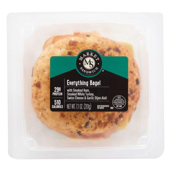 Market Artisan Premium Everything Bagel Sandwich