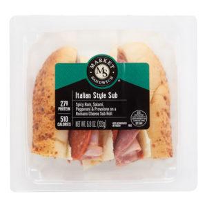 Market Artisan Premium Italian Sub Style Sandwich